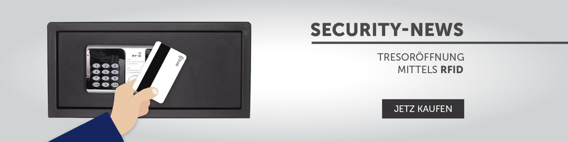 Security News - RFID Safe