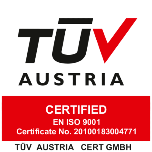 Rottner tuv certificate